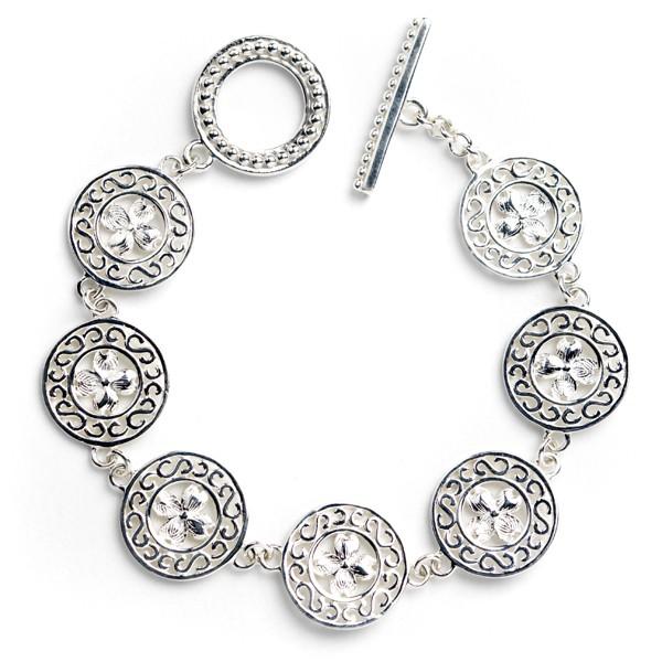 Southern Gates Collection Dogwood Link Bracelet