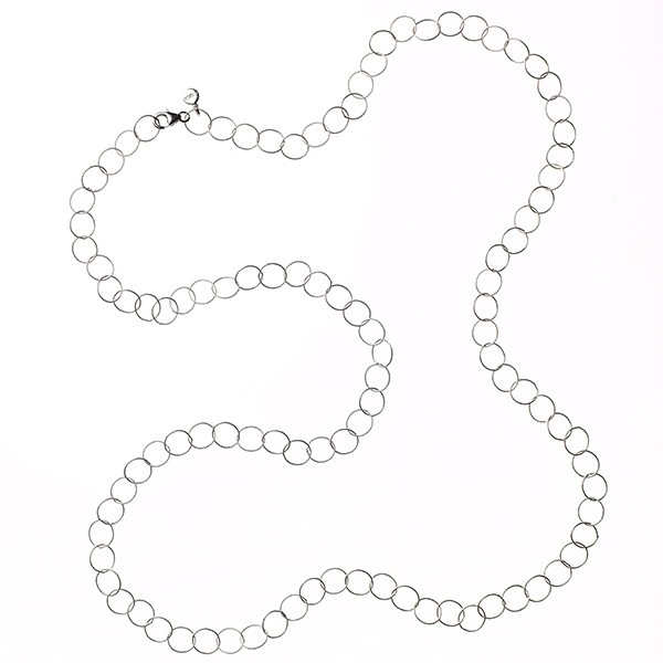 "CARGO® Textured Cable 36"" Necklace (CARGO101SS)"