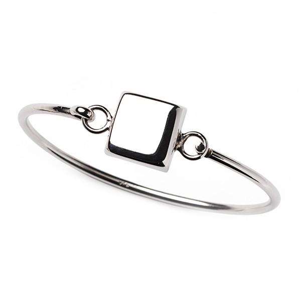 CARGO Square Engravable SS Bracelet (B0317)