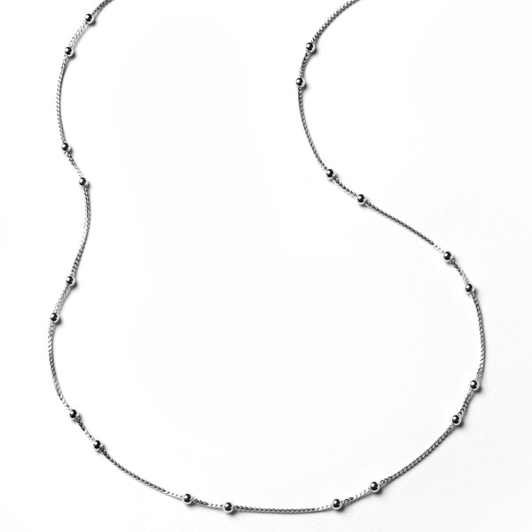 CARGO® Sterling Silver Beaded Necklace
