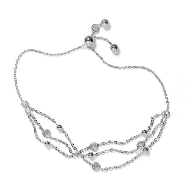 CARGO™ Multi-Strand SS Crystal Bracelet (KAR583)