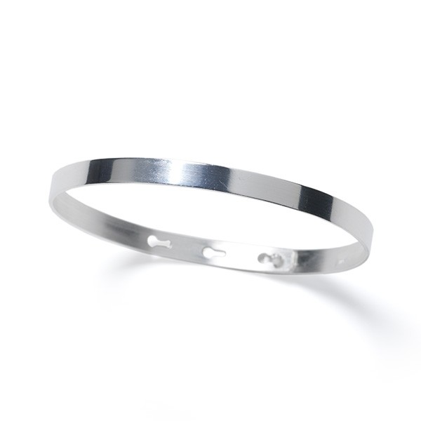 CARGO™ Solid SS Adjustable Bangle