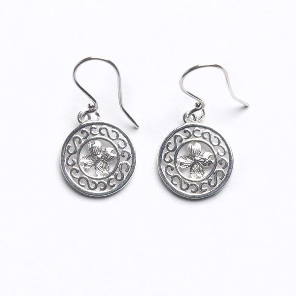 Southern Gates Dogwood Earrings