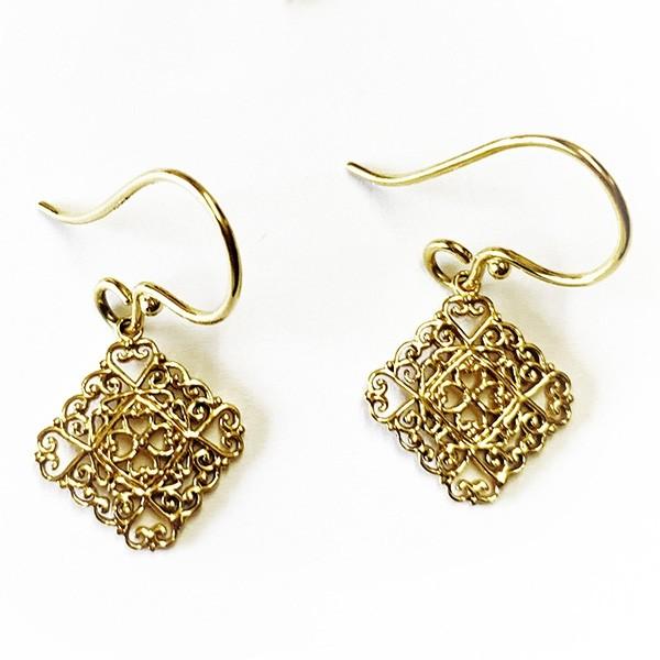 Southern Gates 14k Gold Diane Gate Earrings