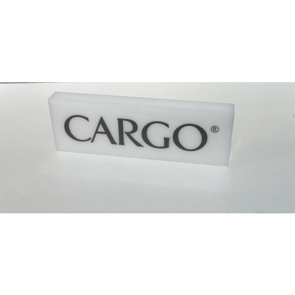 CARGO Acrylic Name Block