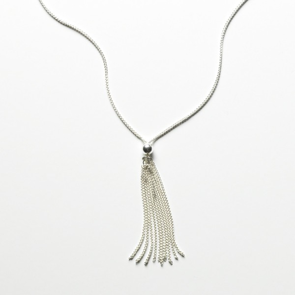 CARGO Sterling Silver Tassel Necklace (KAR572)