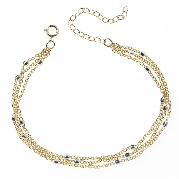 CARGO® Three Strand Satellite Chain Bracelet