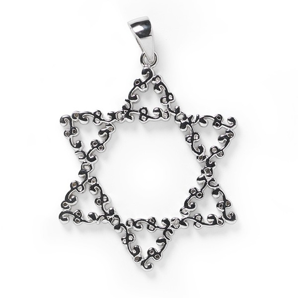 Southern Gates Star of David Pendant (P1802)