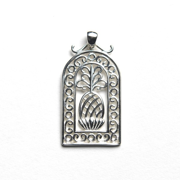 Southern Gates Small Pineapple Dome Pendant