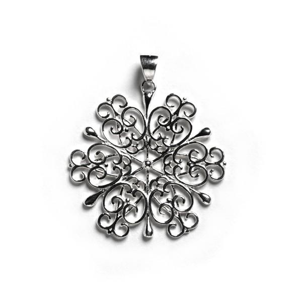 2016 Holiday Series Snowflake Pendant