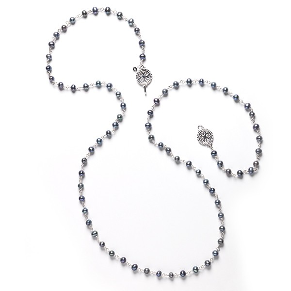 "Southern Gates® 34"" Hand Wrought Pearl Strand Necklace"