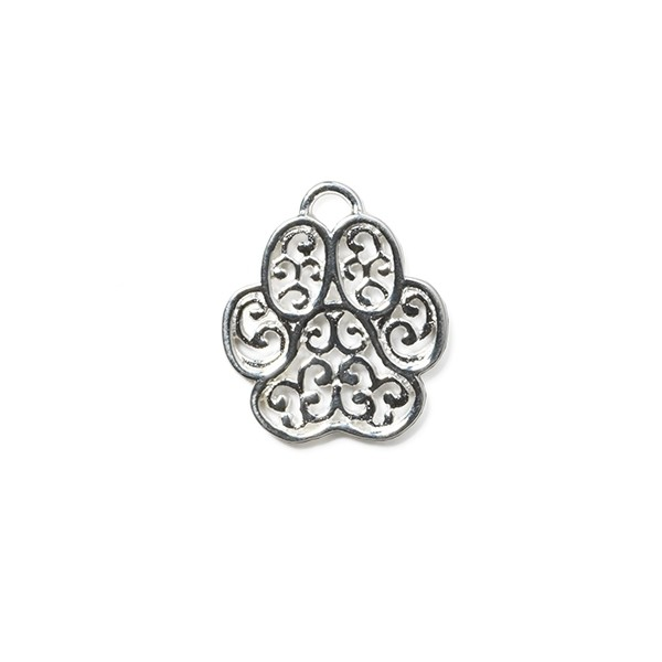 """Southern Gates® """"Lucy"""" Paw Small Dog Charm (CM126)"""