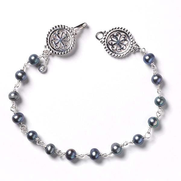Southern Gates® Hand Wrought Pearl Bracelet (JK54G)