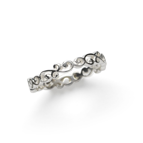 Southern Gates Thin Scroll Ring (R165)