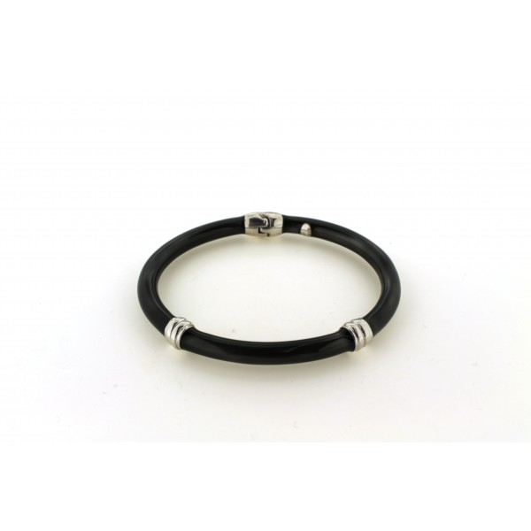 Pewter Enamel Bangle