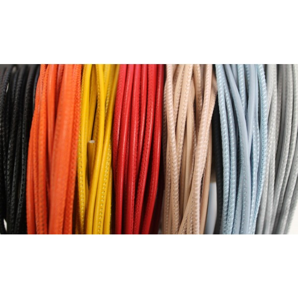 2.0mm Stitched Leather (Available in Multiple Colors)