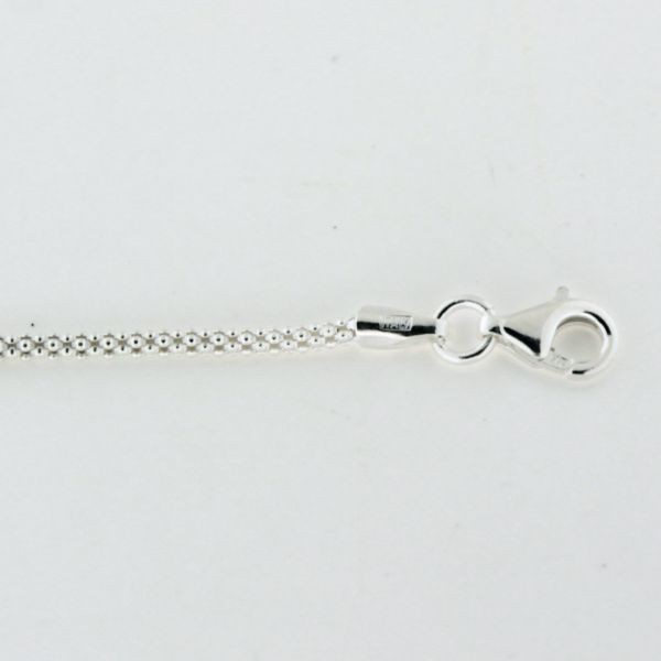 ALL14 1.6mm Sterling Silver Popcorn Chain