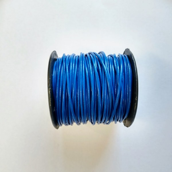 1.5mm Leather Cord - 25 meter spool (Available in Multiple Colors)