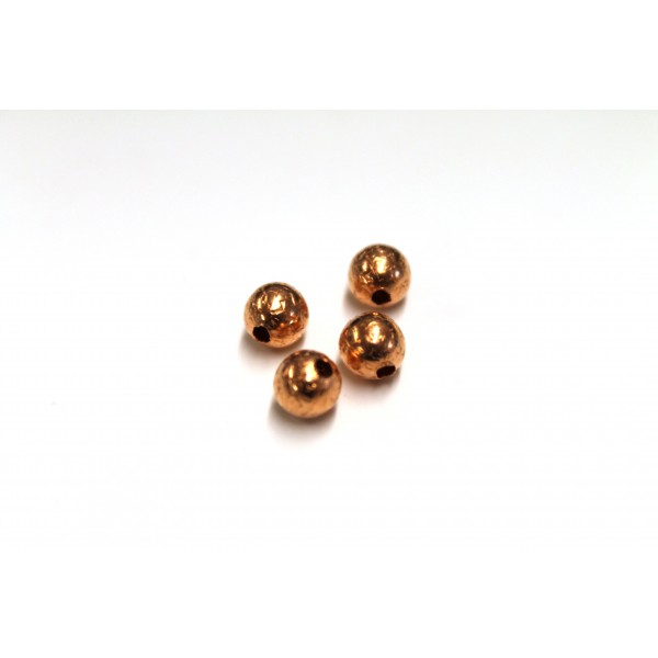 6mm Stardust Round Copper Bead (PACK OF 100)