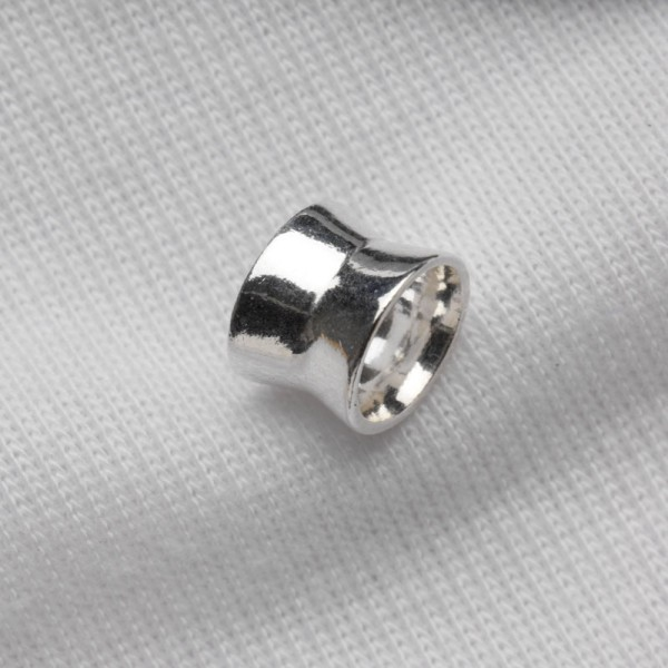 Spacer bead, hourglass shape 7x7mm (DERF514)