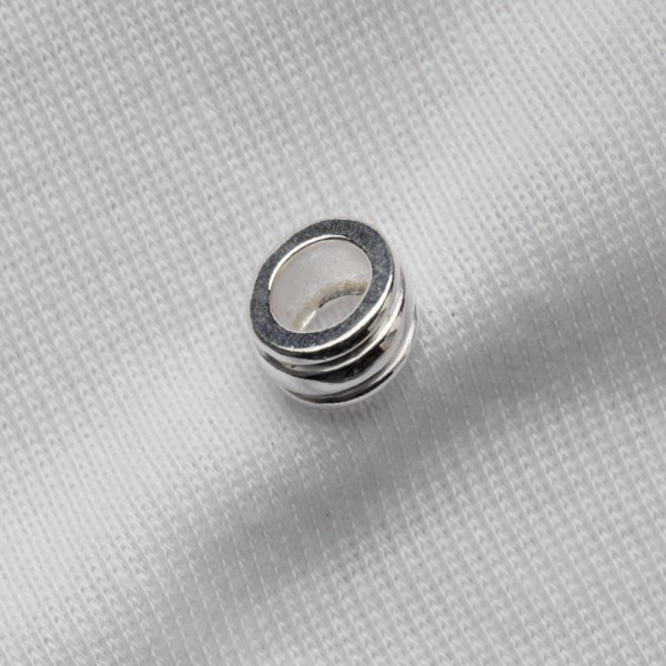 Spacer bead, ribbed, 5x9mm (F517)