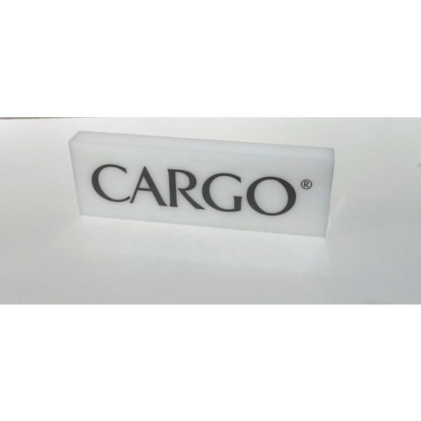 CARGO™  Acrylic Name Block