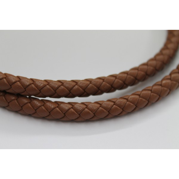 8mm Braided Nappa Lamb Leather (Multiple Colors)