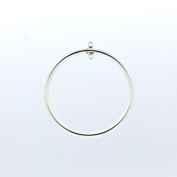 S/S Hoop w/ Rings Multiple Sizes