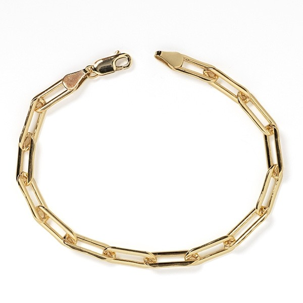 MSC35 Gold Filled Paper Clip Bracelet