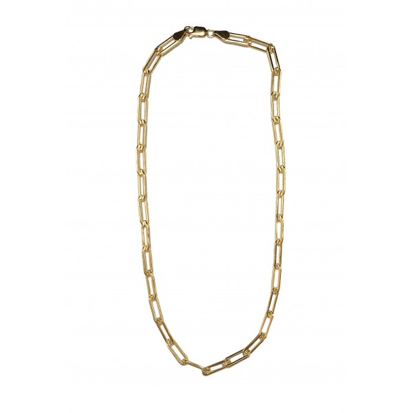 MSC35 Gold Filled Paper Clip Chain