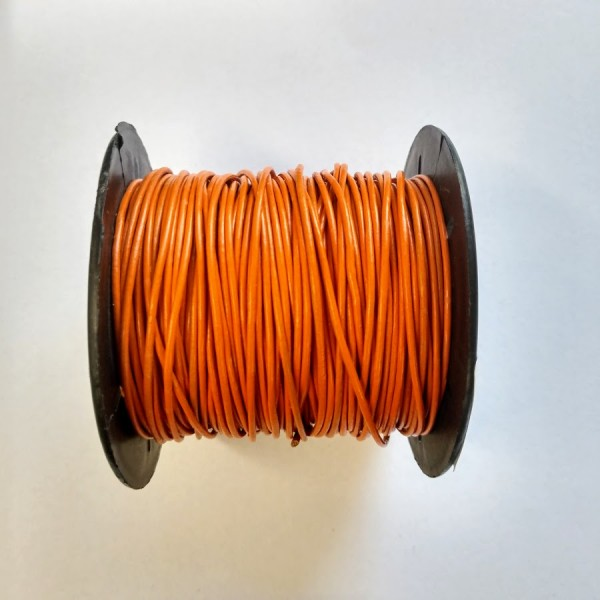 1mm Leather Cord - 25 meter spool (Available in multiple colors)