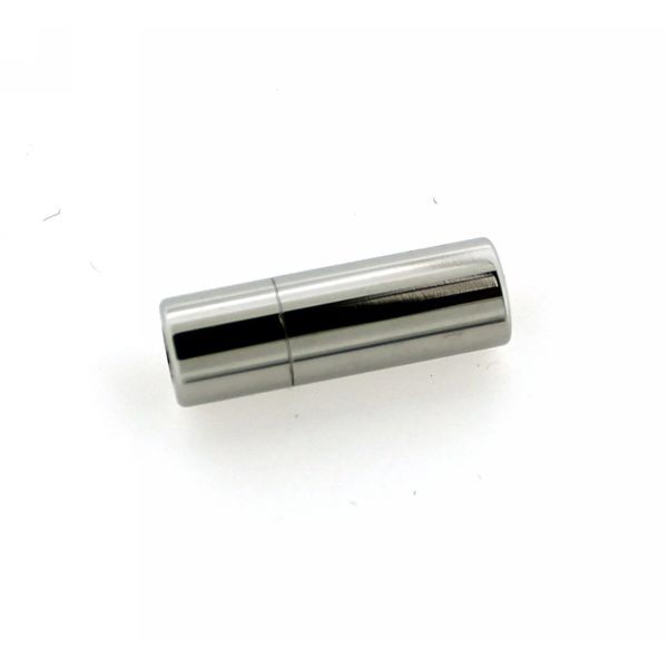 4mm Polished Tube Magnetic Clasp