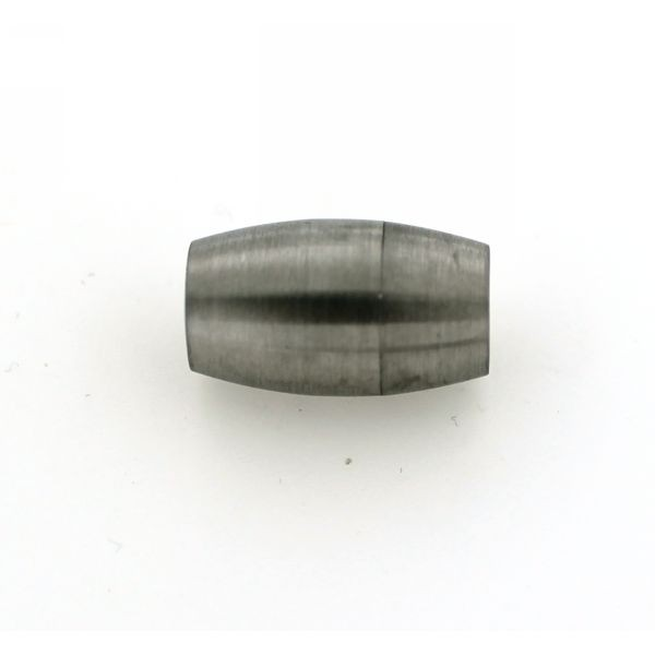 6mm Round Matte Magnetic Clasp