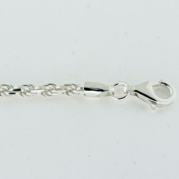 ROPE060 2.7mm Sterling Silver Rope Chain