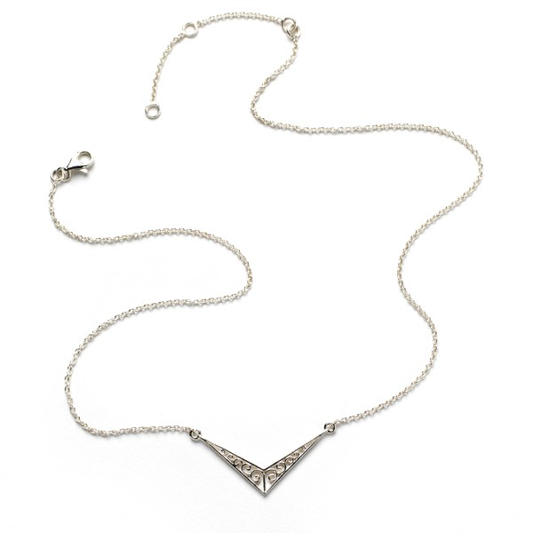Southern Gates Collection Chevron Necklace
