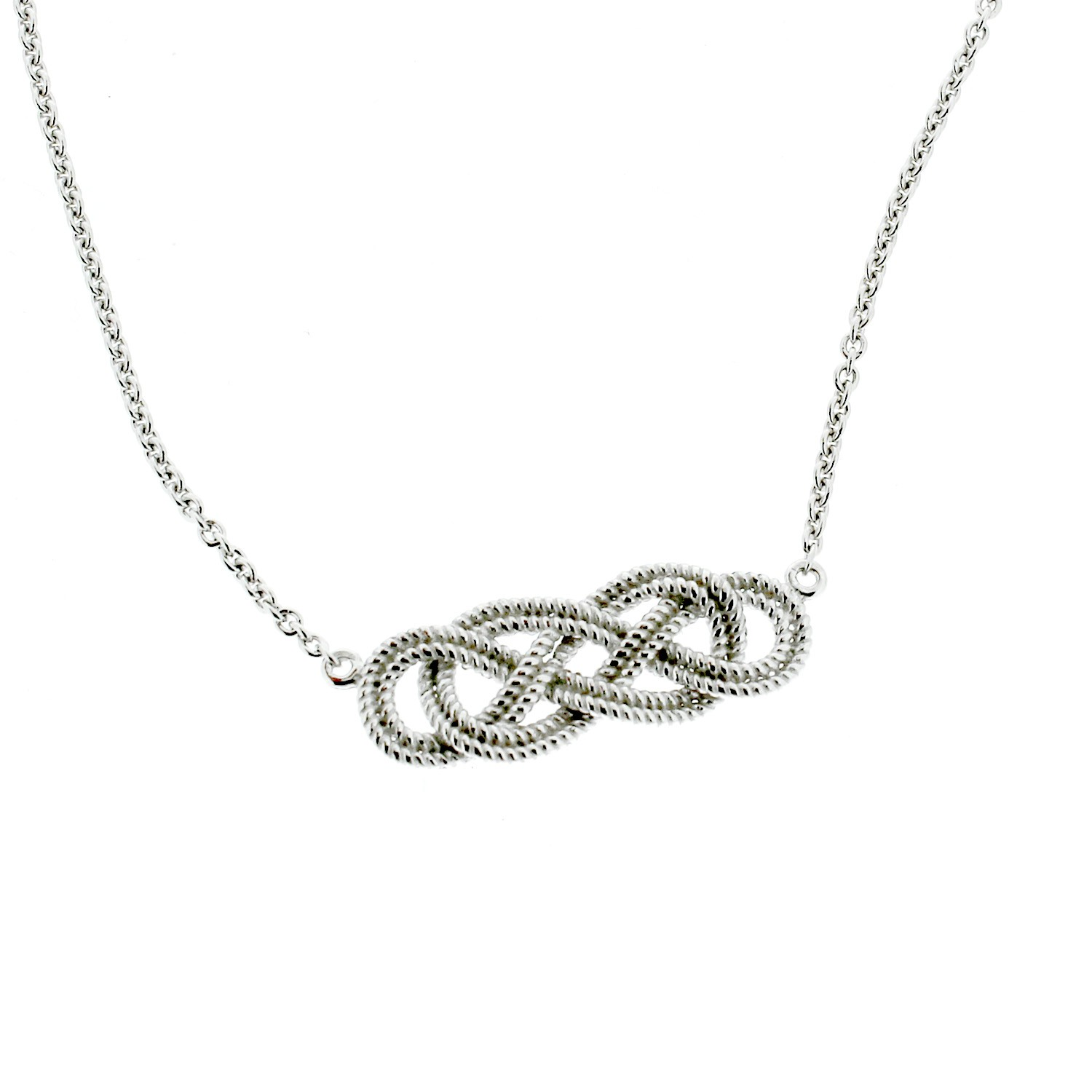 Southern Gates Collection Harbor Series Rope Knot Necklace