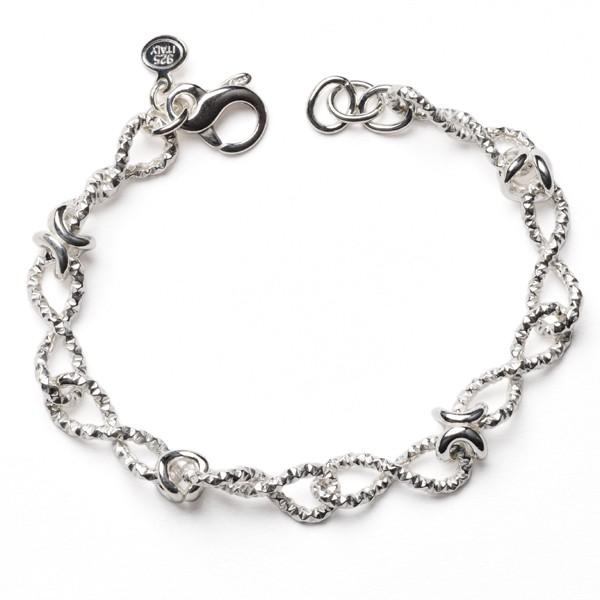 CARGO® Italian Sterling Silver Link Bracelet, 7.5in KAR561