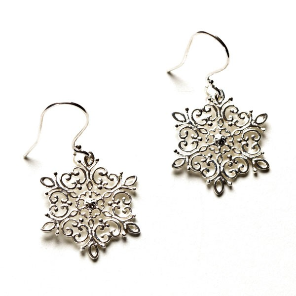 Southern Gates Holiday Snowflake Earrings