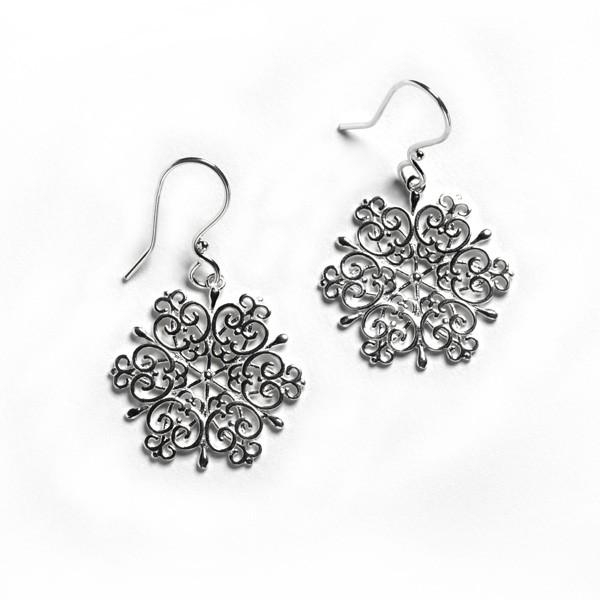 2016 Holiday Series Snowflake Earrings
