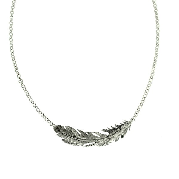 Southern Gates Feather Necklace