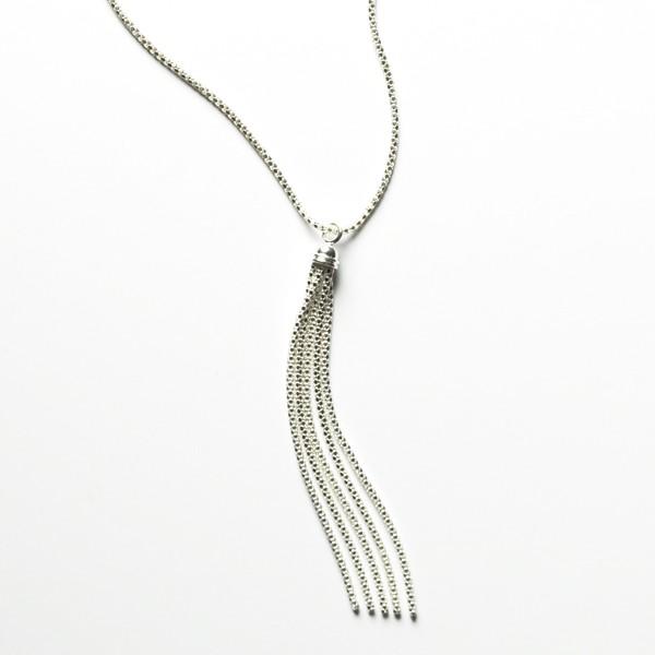 CARGO Tassel Sterling Silver Necklace KAR578