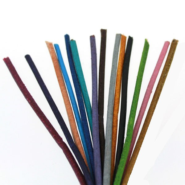 2.0mm Cowhide Leather Cords (Available in Multiple Colors)