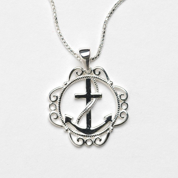Southern Gates Collection Harbor Series Anchor Pendant with Chain