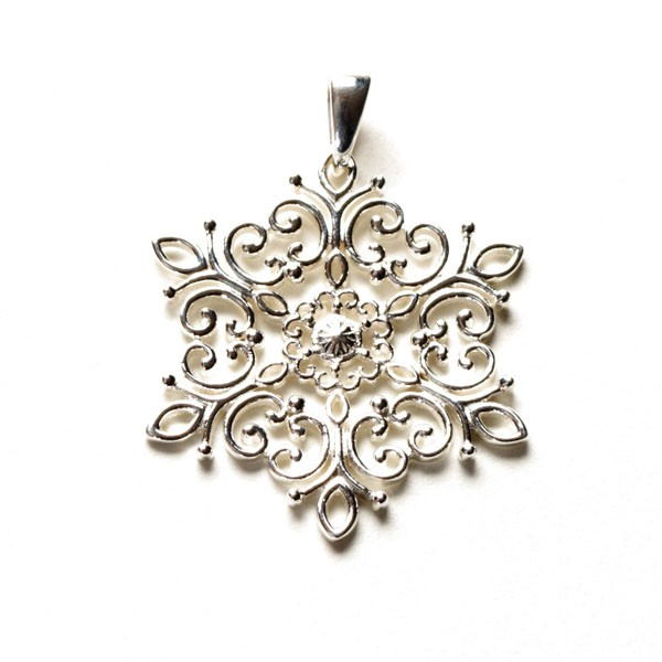 Southern Gates Holiday Snowflake Pendant