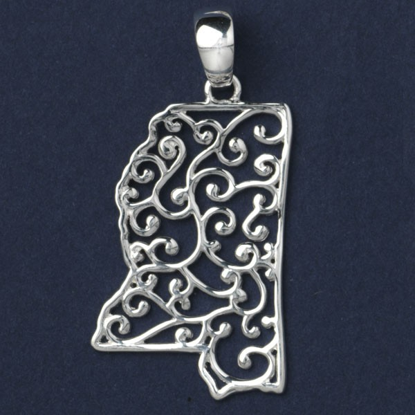 Southern Gates® Mississippi Pendant, P943