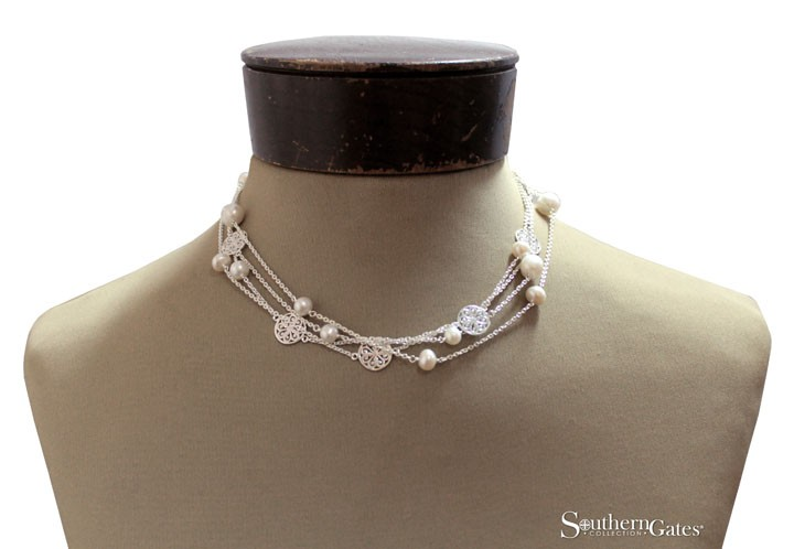 Southern Gates Pearl Necklace C206