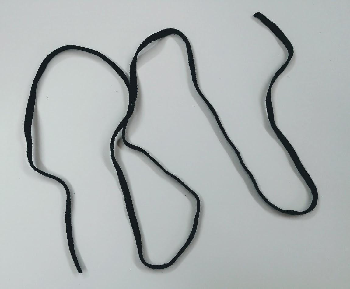 Black Suede Strip