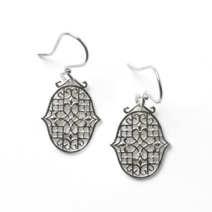 Biltmore® Fleur-De-Lis Earrings