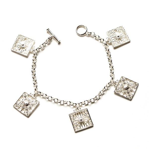 Southern Gates Rice Gate Charm Bracelet