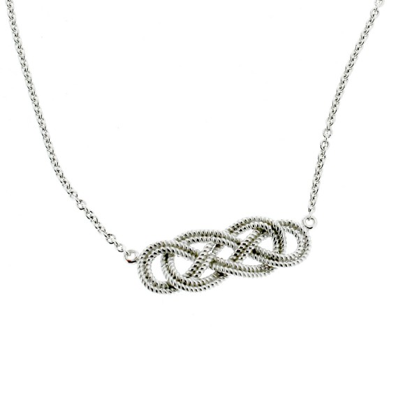 Southern Gates Collection Harbor Series Rope Knot Necklace (C500)